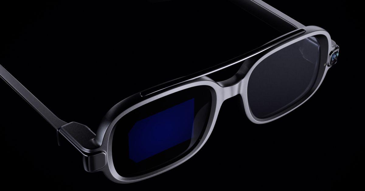 Así son las gafas inteligentes xiaomi 1