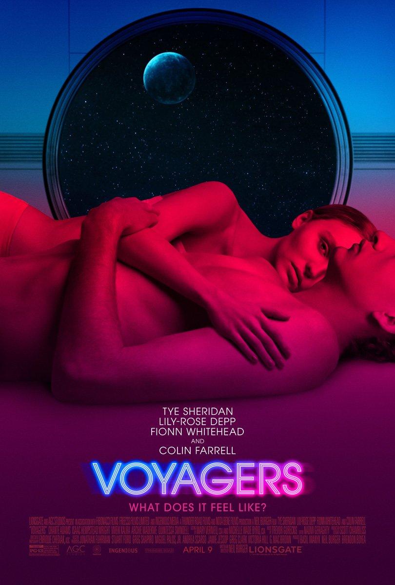 ciencia ficción distópica:Voyagers con Tye Sheridan, Lily-Rose Depp y Colin Farrell. 1