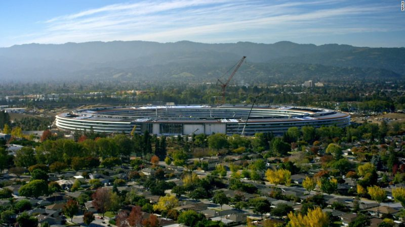 170222121826 apple park 1024x576 - ASÍ SON LAS OFICINAS DE APPLE