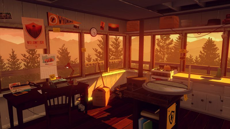 A year after Firewatch2 - FIREWATCH VIDEO GAME