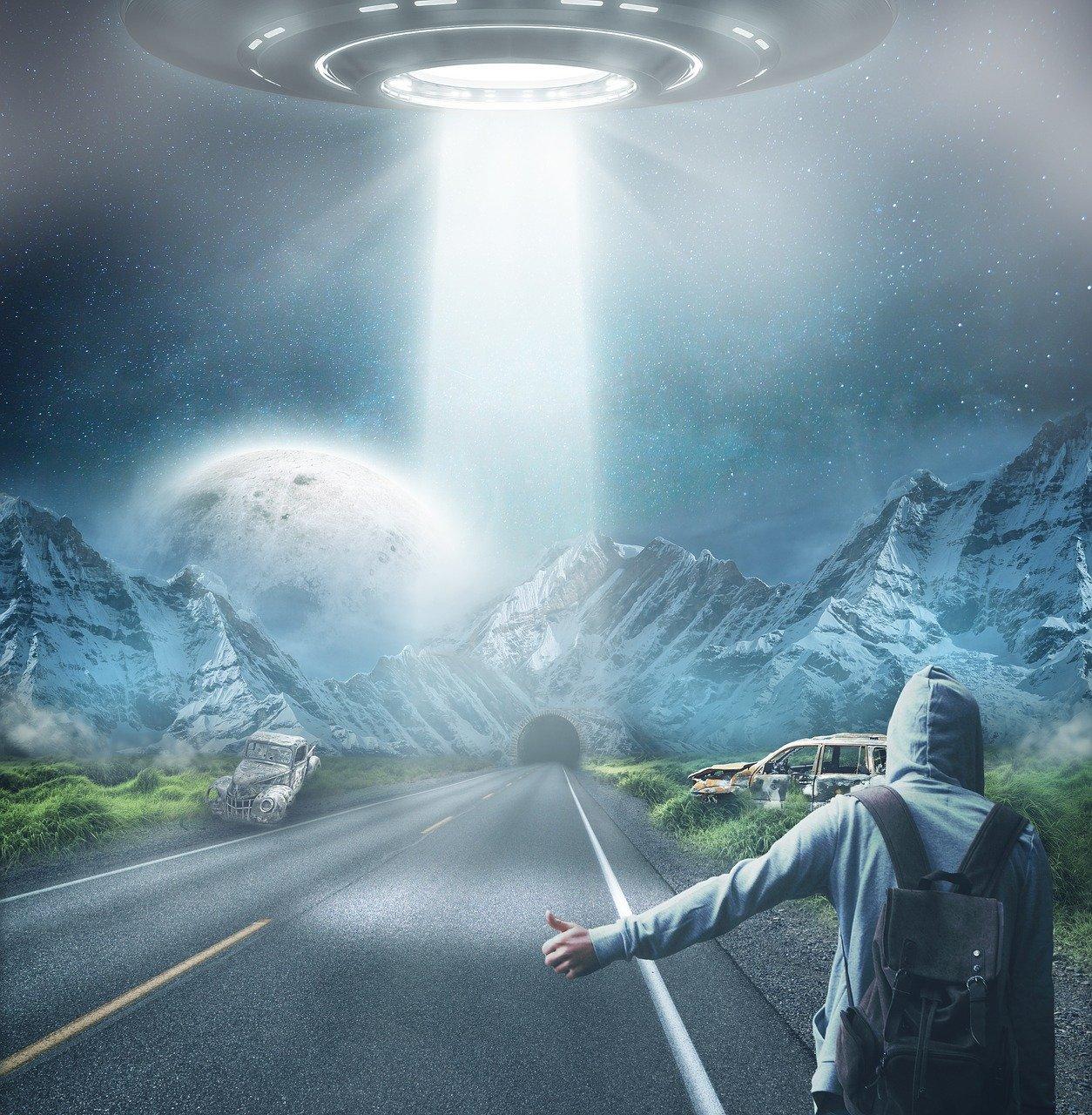 ¿Qué se dice de los Contactos extraterrestres en la Red? 1