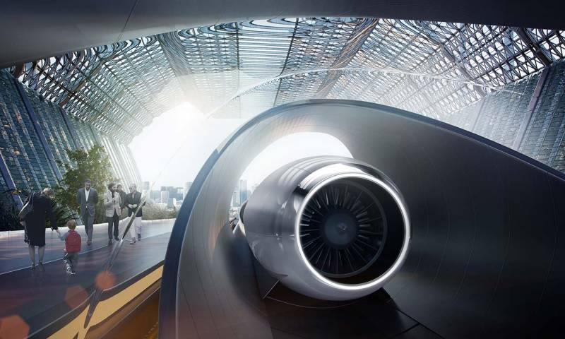 HYPERLOOP ONE - HYPERLOOP ONE: De Nueva York a Washington en media hora