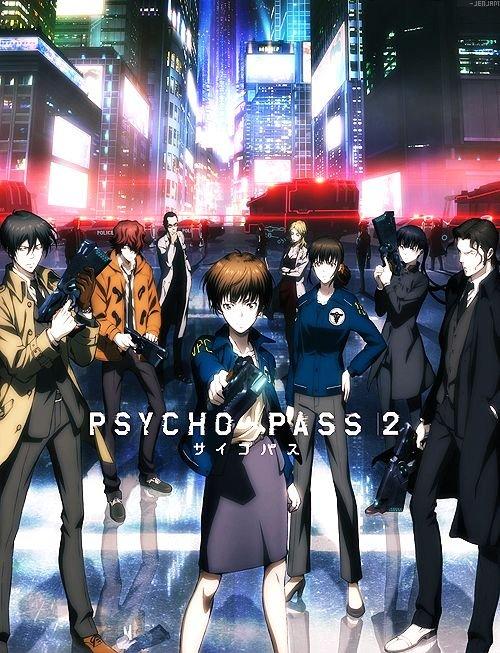 Personajes y películas anime netflix:akane psycho pass 3