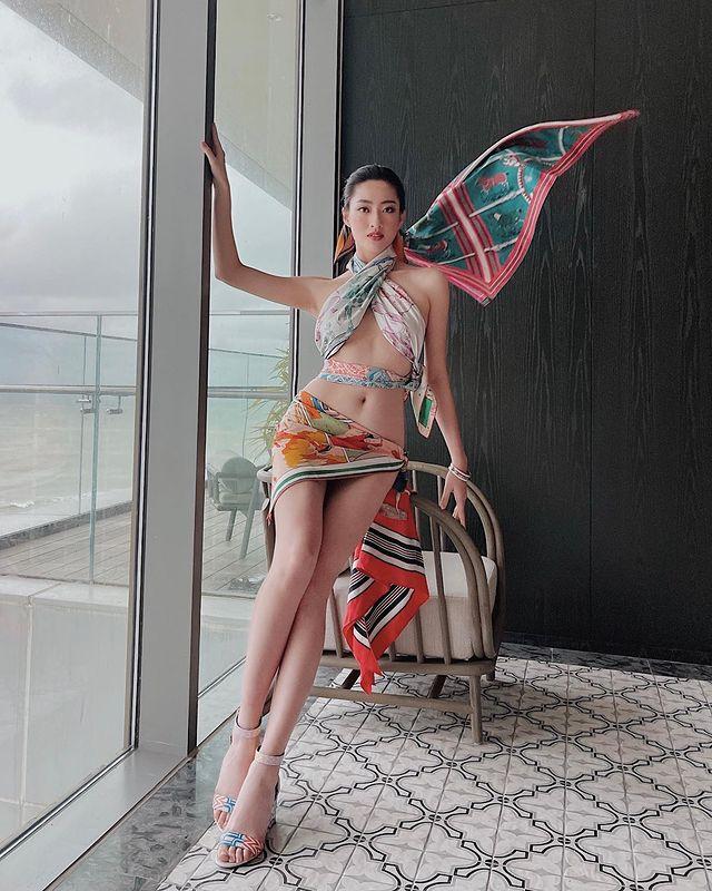 buscando el modelo de belleza actual:Luong Thuy Linh 7