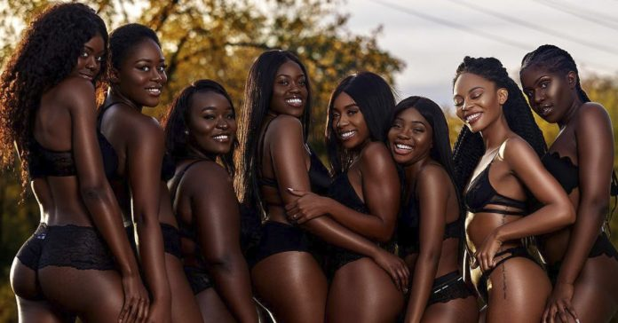las chicas negras exóticas EN BIKINI de NOSOLOSEX 2