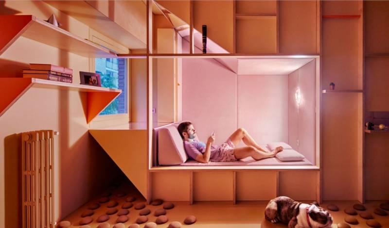 Screenshot 10 1 - eL MINIPISO EN MADRID DEL estudio Husos Architects