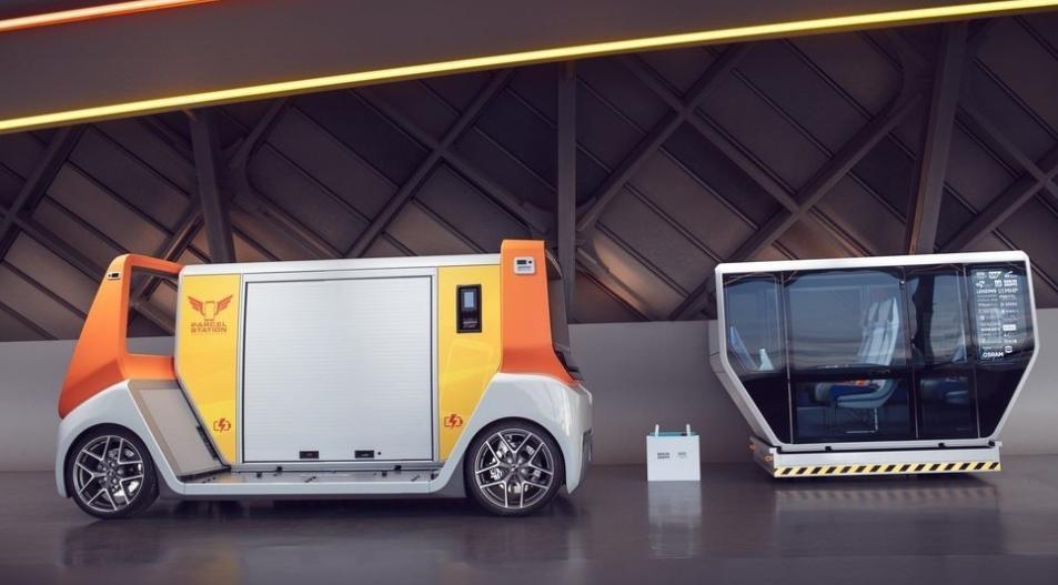 vehículos cien por cien autónomos - MetroSnap Concep, de Los chicos de RinSpeed 2