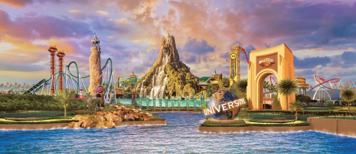 universal studios beijing park and resort - CityWalk, un nuevo arte conceptual 1