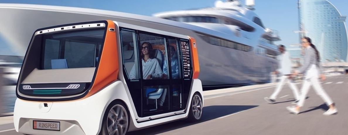 Screenshot 11 - vehículos cien por cien autónomos - MetroSnap Concep, de Los chicos de RinSpeed