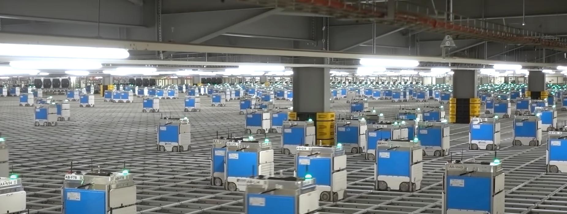 robots en tiendas: En las tiendas de comestibles de Ocad 2