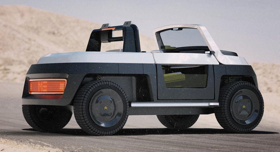 Nuevos diseños de vehículos eléctricos: Citroën ME Concept, un vehículo ecológico 6