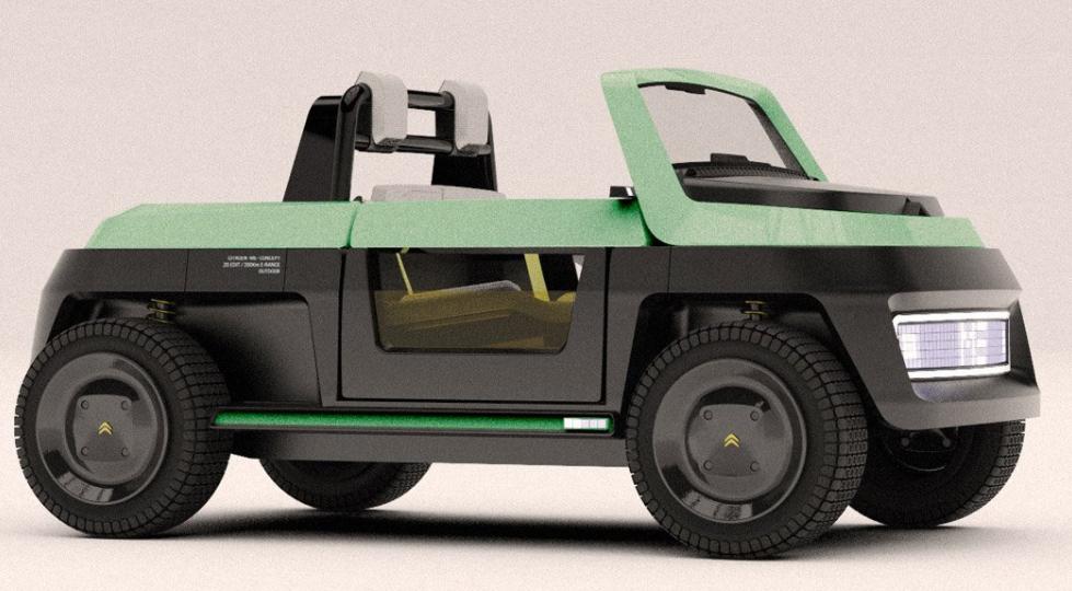 Nuevos diseños de vehículos eléctricos: Citroën ME Concept, un vehículo ecológico 5