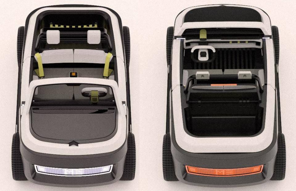 Nuevos diseños de vehículos eléctricos: Citroën ME Concept, un vehículo ecológico 4