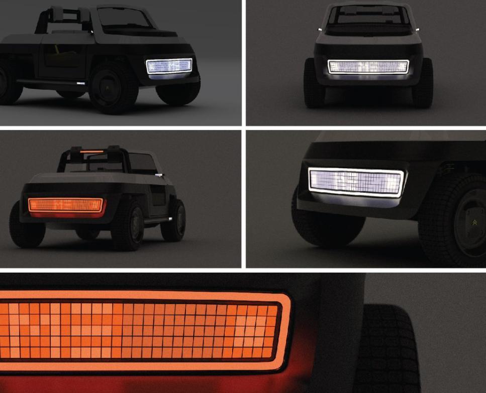 Nuevos diseños de vehículos eléctricos: Citroën ME Concept, un vehículo ecológico 2