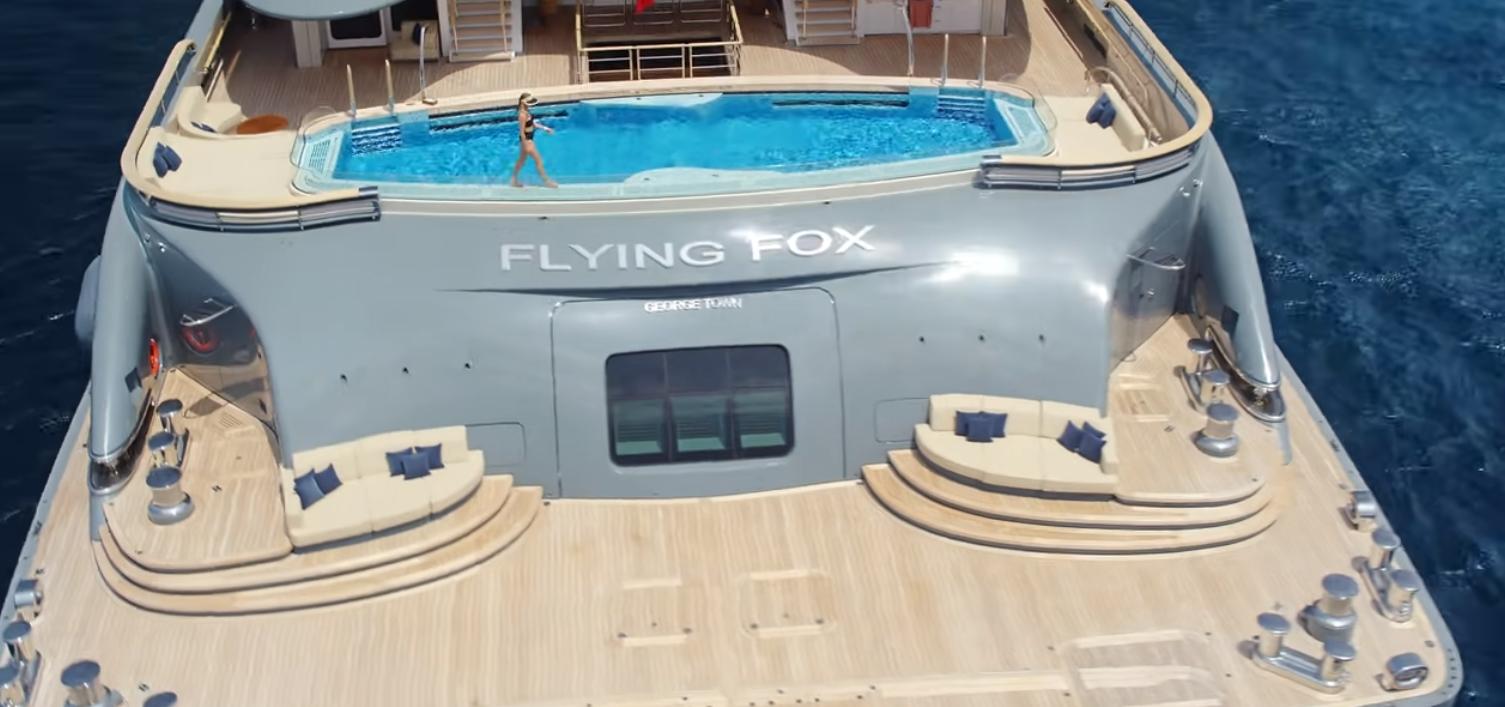 alquiler de yates de lujo con tripulación: FLYING FOX 1