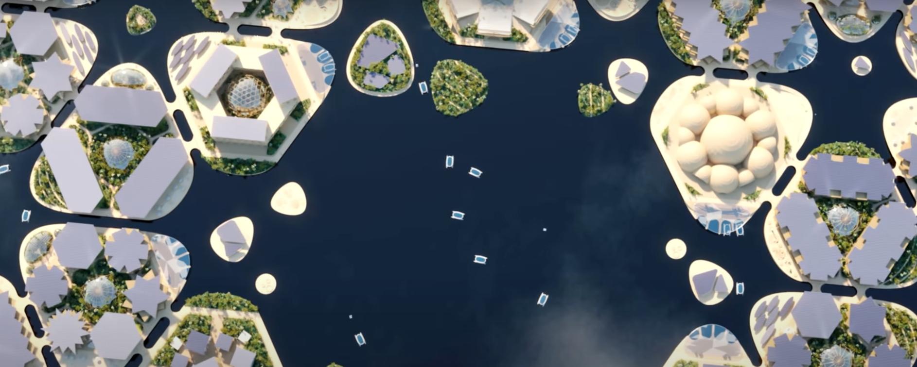 ciudad oceanix: la ciudad flotante en el mar 4