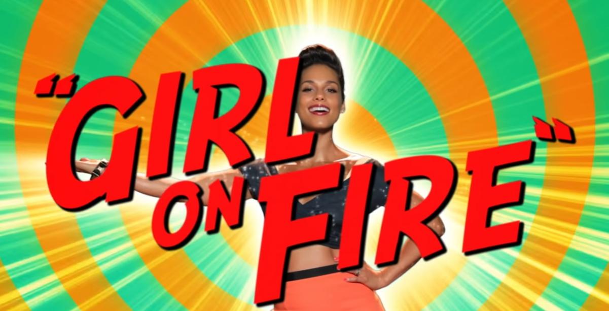 cosas de alicia keys girl on fire: será novela gráfica 1