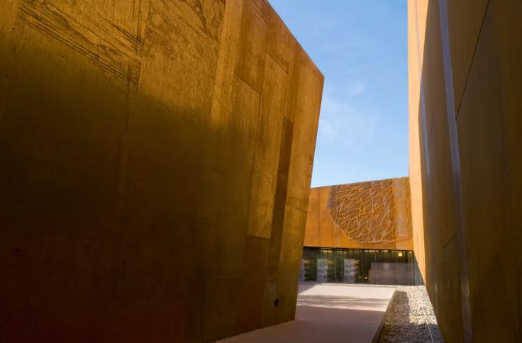 la biblioteca del futuro es árabe, pero está enScottsdale, Arizona 1