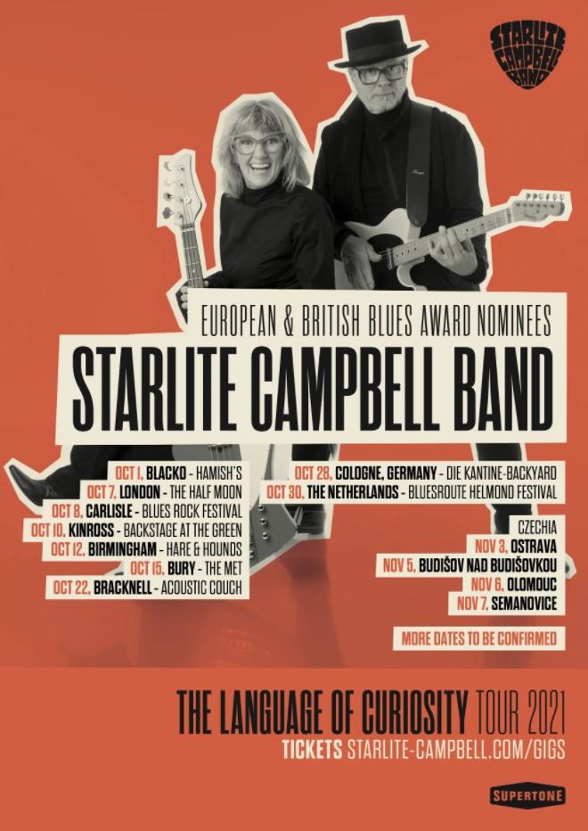 "starlite campbell band: ""Gaslight"" 3"