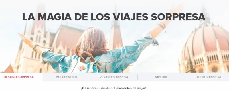 Screenshot 2 4 - DESTINOS SORPRESA CON FLYKUBE - Vuelos + Hotel desde 99€