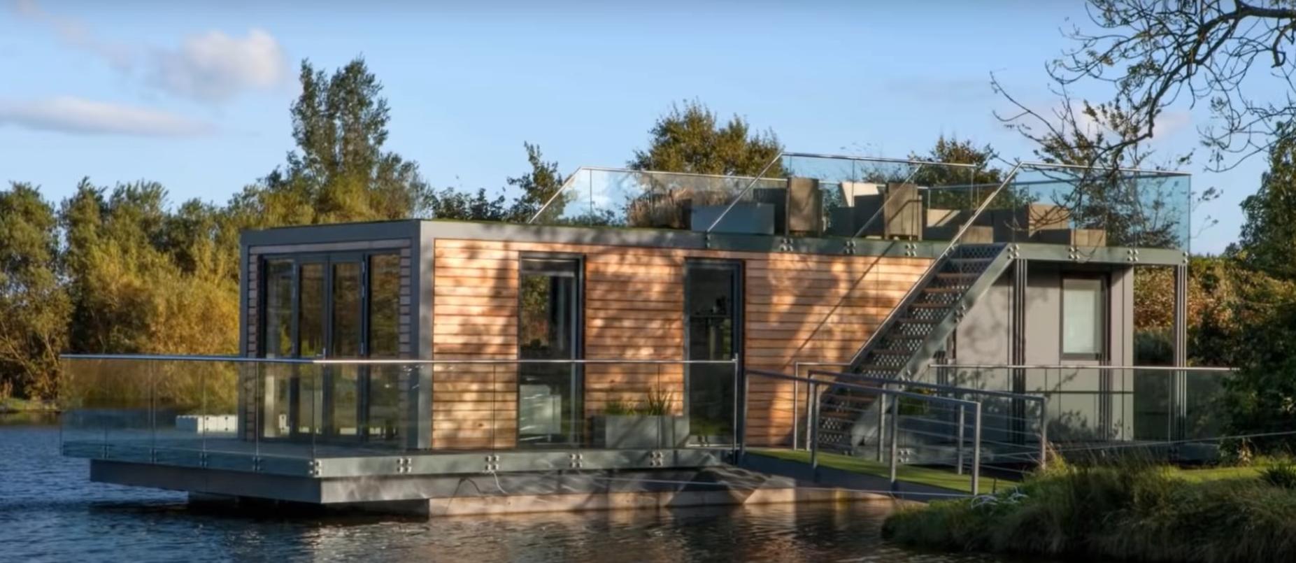 ¿Podremos vivir en una casa flotante enun futuro cercano? 4