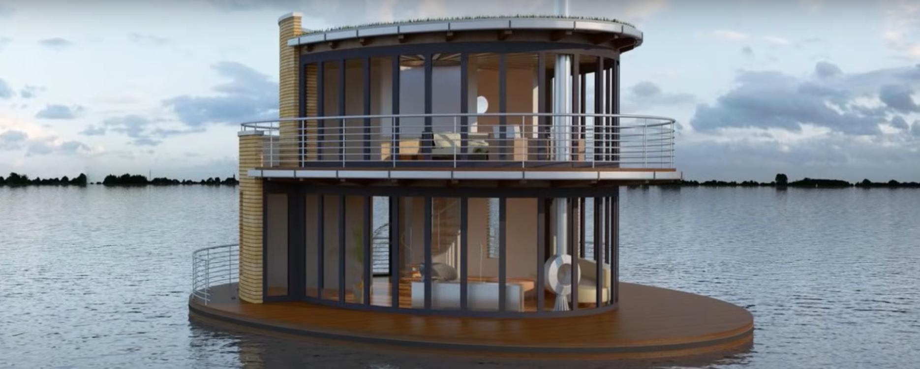¿Podremos vivir en una casa flotante enun futuro cercano? 2