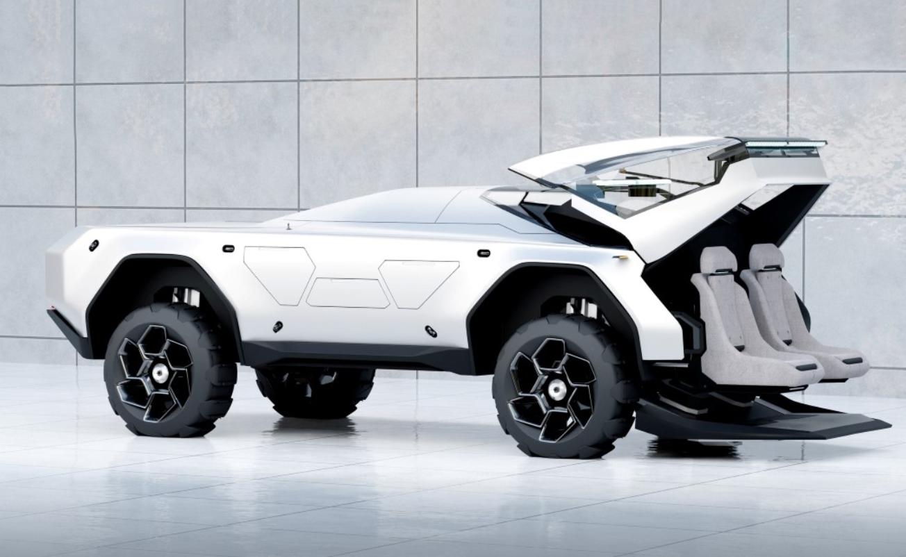 coches con tecnología avanzada: Rover, Mercedes-Benz EQS, Tesla Model S Plaid y otros 4