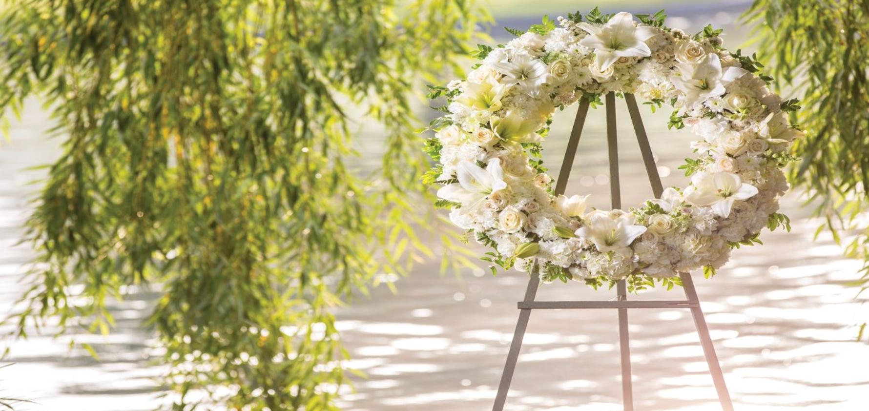 Cómo elegir arreglos florales para funerales 1
