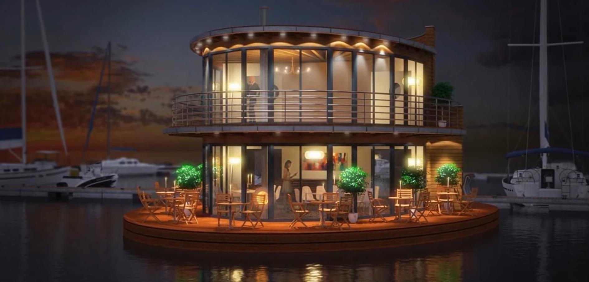 ¿Podremos vivir en una casa flotante enun futuro cercano? 1