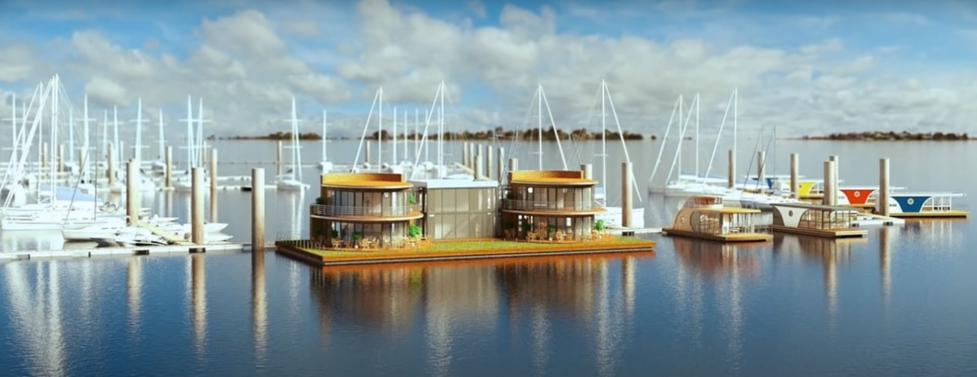 ¿Podremos vivir en una casa flotante enun futuro cercano? 6