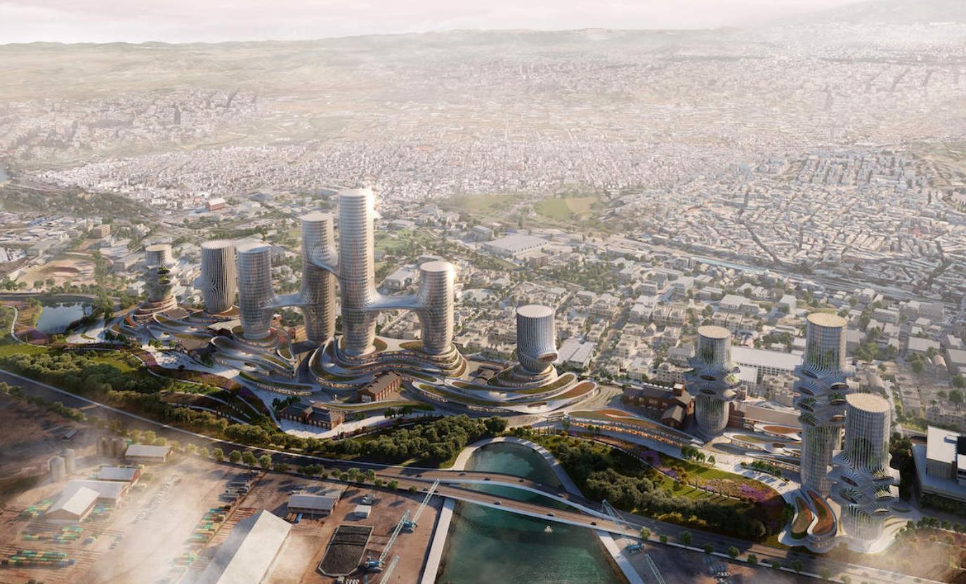 Así es la futura Salónica en los concursos de arquitectura abiertos 3