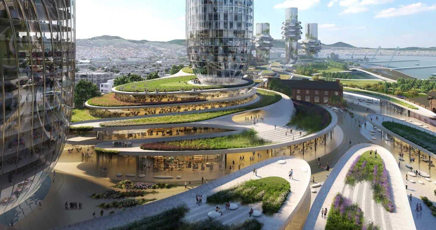 Así es la futura Salónica en los concursos de arquitectura abiertos 2