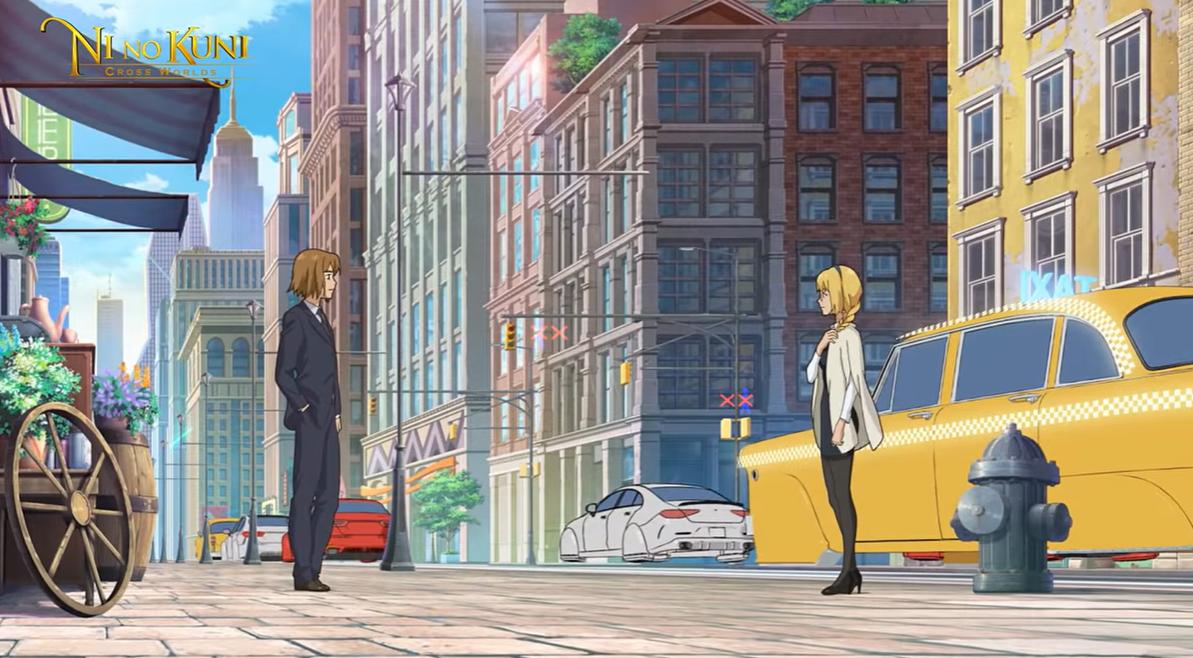 ni no kuni cross worlds trailer:programado para este año en Japón 2