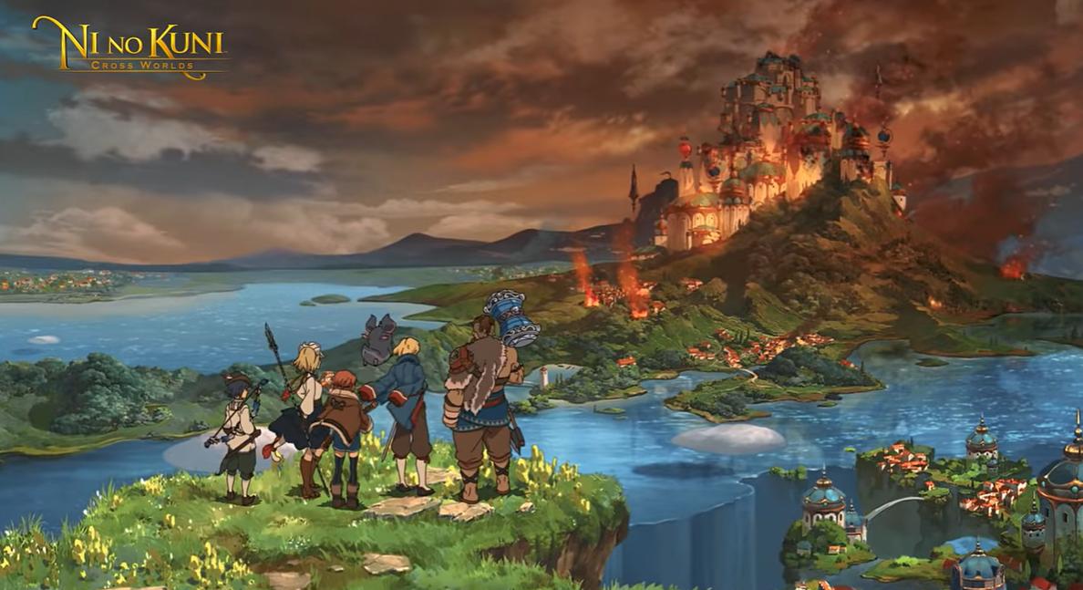 ni no kuni cross worlds trailer:programado para este año en Japón 1