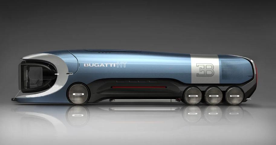 El camión Bugatti más futurista - un genial homenaje a la marca alsaciana 3