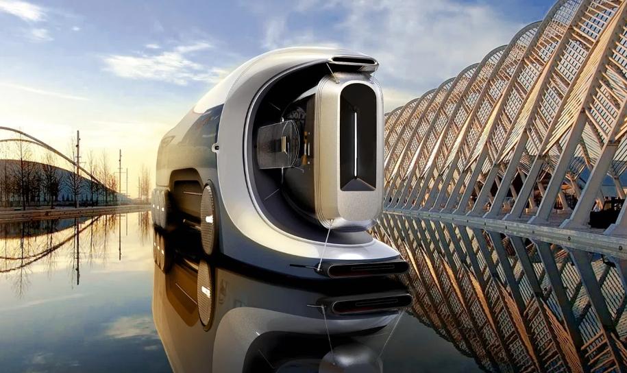 El camión Bugatti más futurista - un genial homenaje a la marca alsaciana 1
