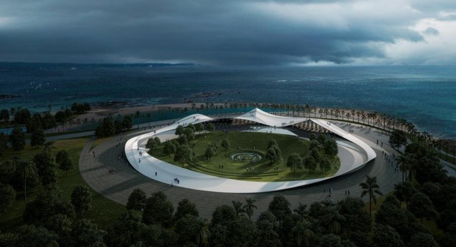los mejores arquitectos del mundo planifican el futuro de la bahía de Haikou 2