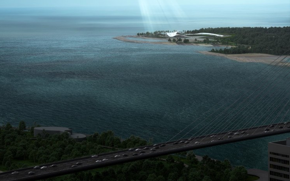 los mejores arquitectos del mundo planifican el futuro de la bahía de Haikou 1