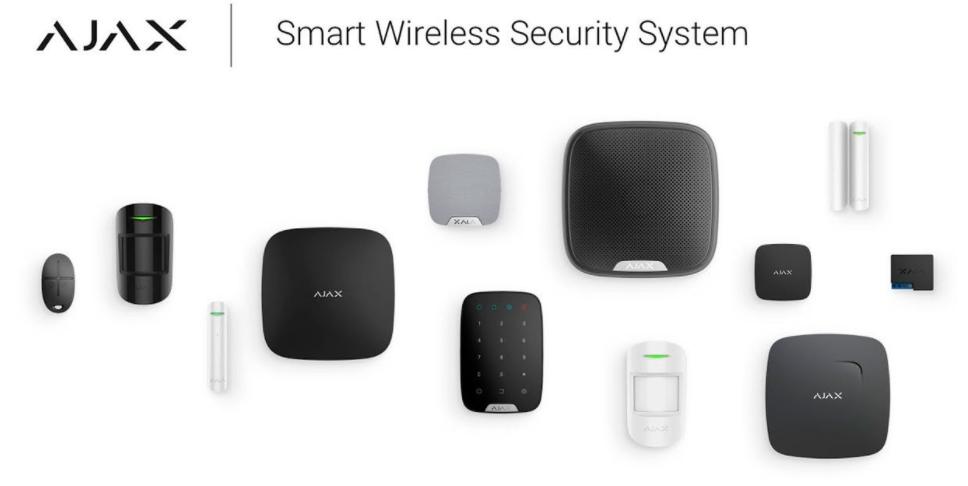 productos ajax alarma:sistema inalámbrico de seguridad 3