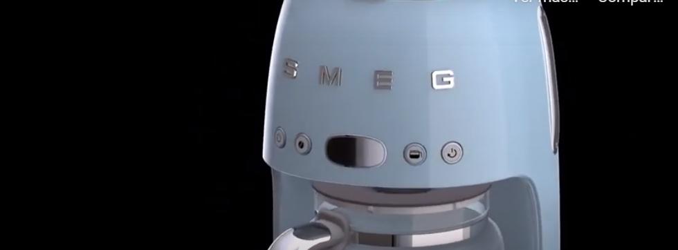 cafetera retro vintage Smeg: la 10 en electrodomesticos estilo retro 1