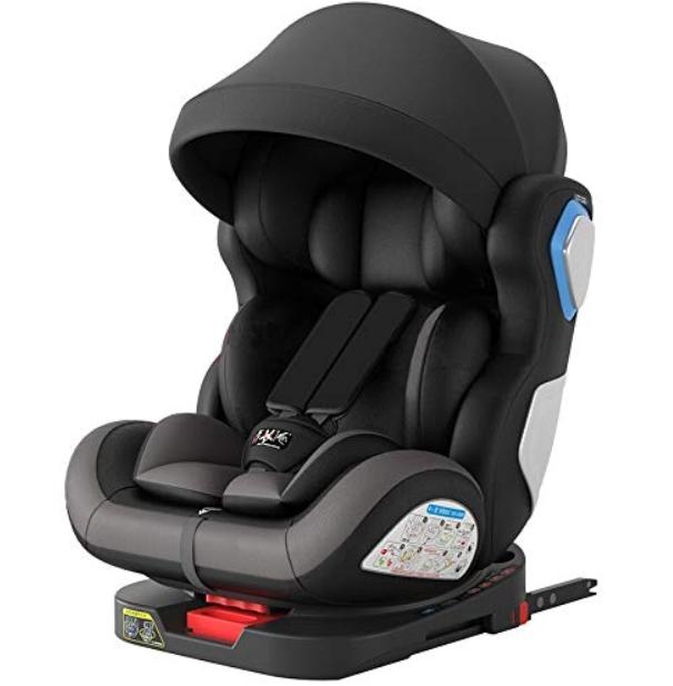 ¿Qué tipos de grupos de sillas para coche encontramos en el mercado?
