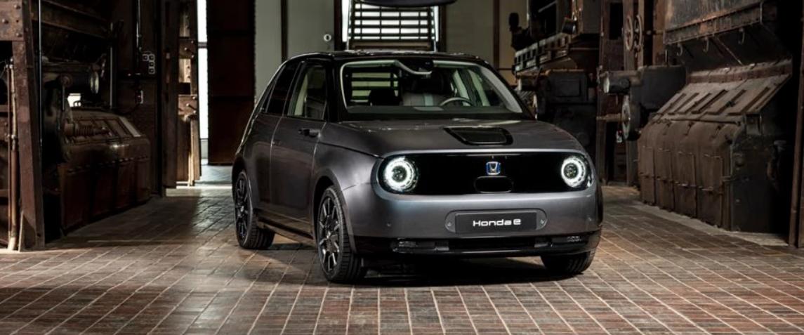 Honda-e:el primer vehículo eléctrico de la marca. 3