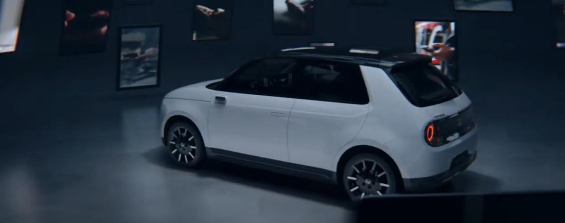 Honda-e:el primer vehículo eléctrico de la marca. 2