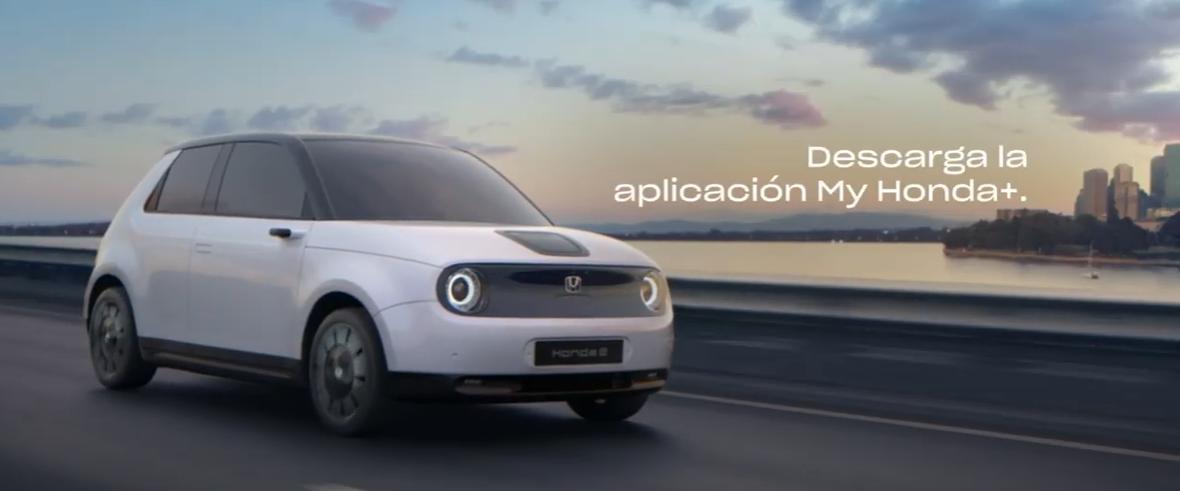 Honda-e:el primer vehículo eléctrico de la marca. 1