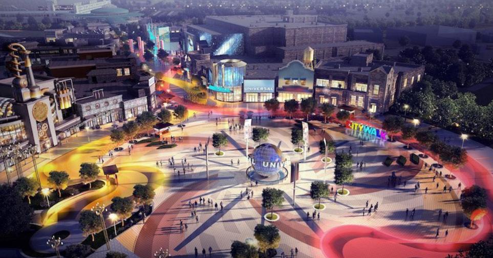 universal studios beijing park and resort - CityWalk, un nuevo arte conceptual 3