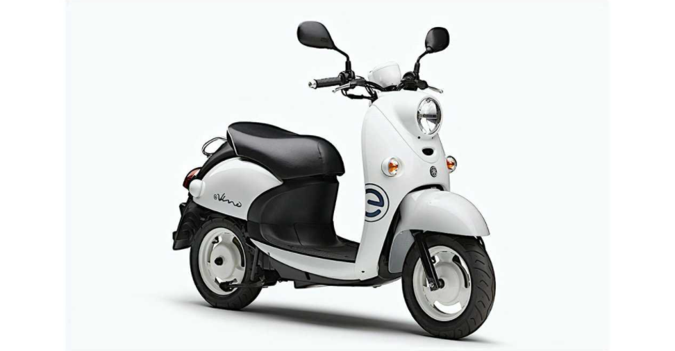 El Yamaha e-Vino eléctrico, sin baterías, pesa solo 68 kg. 1