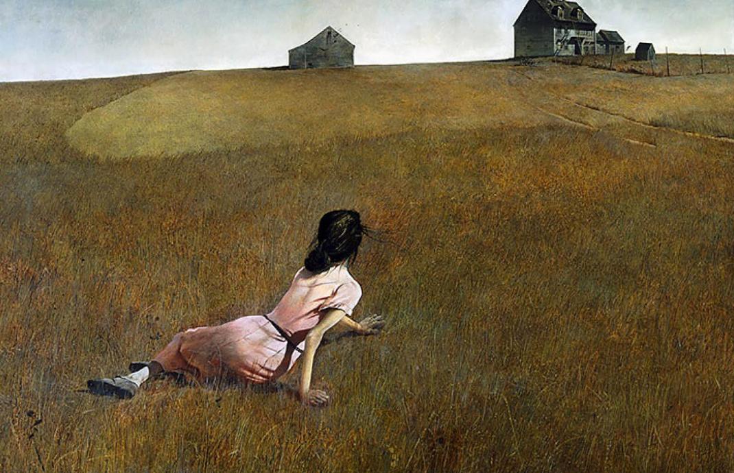 pintores realistas americanos contemporáneos:andrew wyeth 1