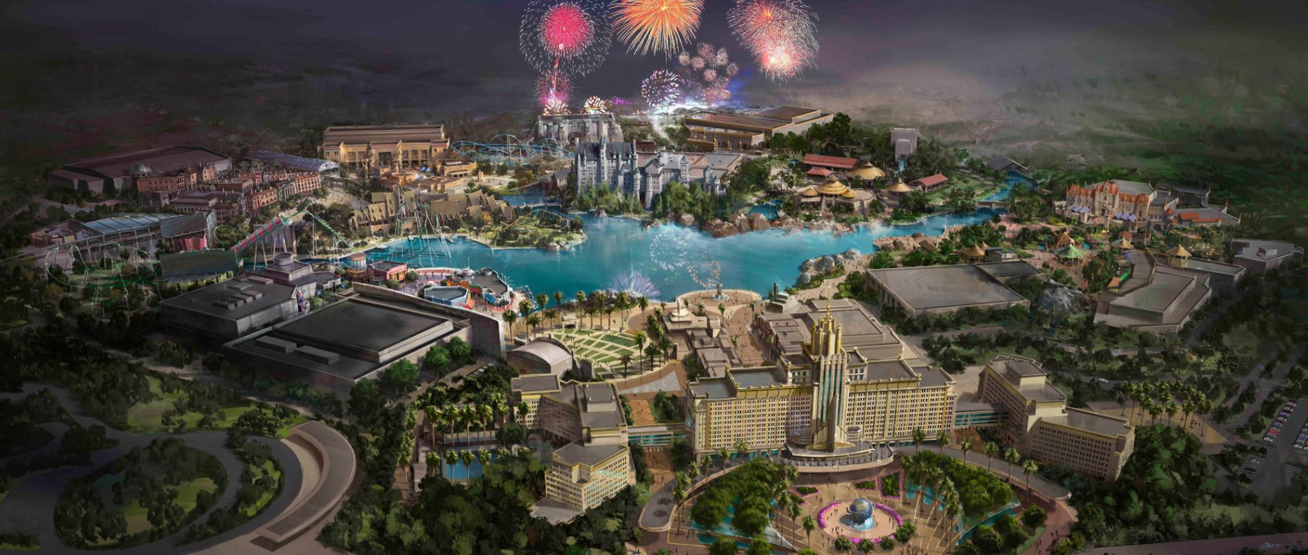 universal studios beijing park and resort - CityWalk, un nuevo arte conceptual 2