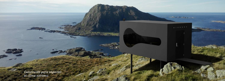 Birdbox - la cabaña minimalista para aventureros. 7
