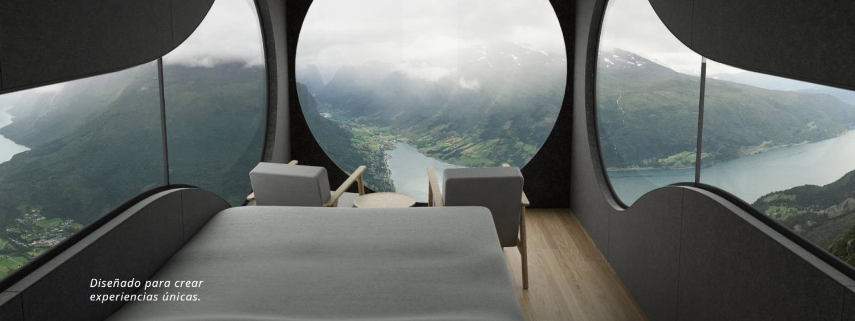 Birdbox - la cabaña minimalista para aventureros. 6